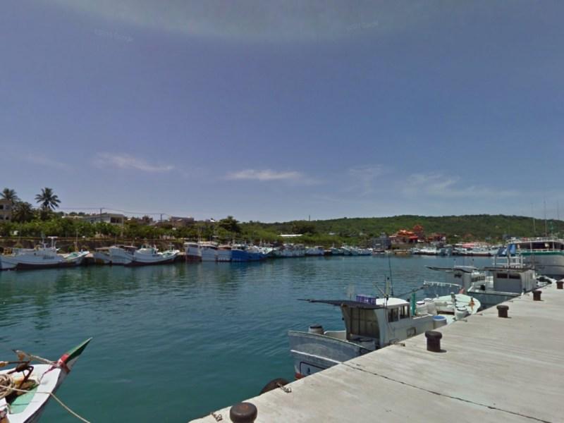 Dafu Fishing Harbor, Liouciou, Taiwan. Photo: Google Maps