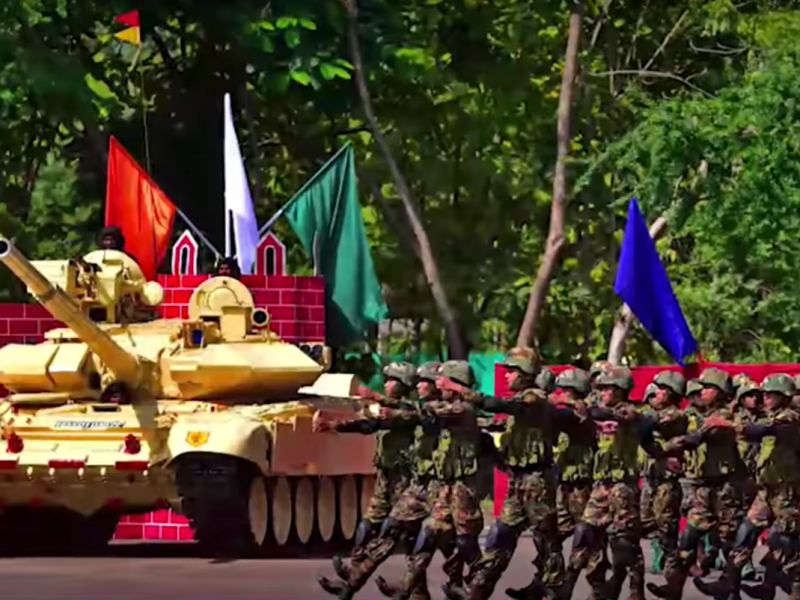 Troops from five BIMSTEC states take part in an anti-terror drill in Pune this week. Photo: YouTube screen grab.