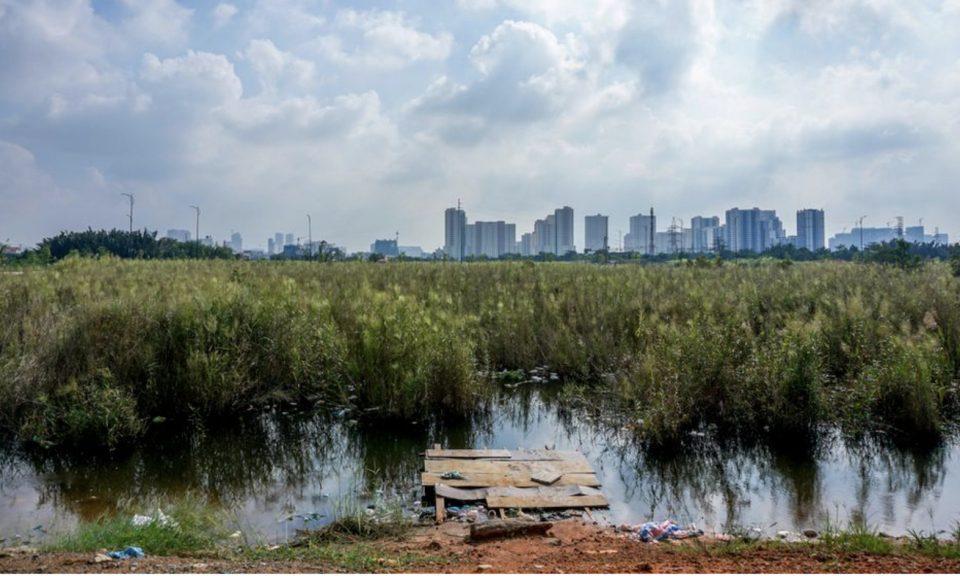 胡志明市的首添區長期以來一直被發展成為一個主要的金融中心。相片: Twitter