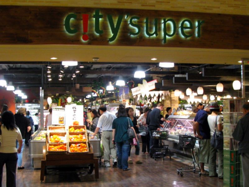 City'super Store at IFC Mall, Central, Hong Kong Island. Photo: Wikimedia Commons, WiNG