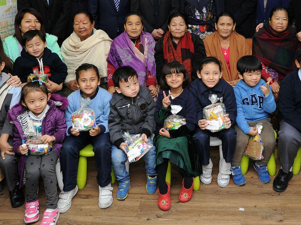 Ethnic minorities children in Hong Kong Photo: HK Government