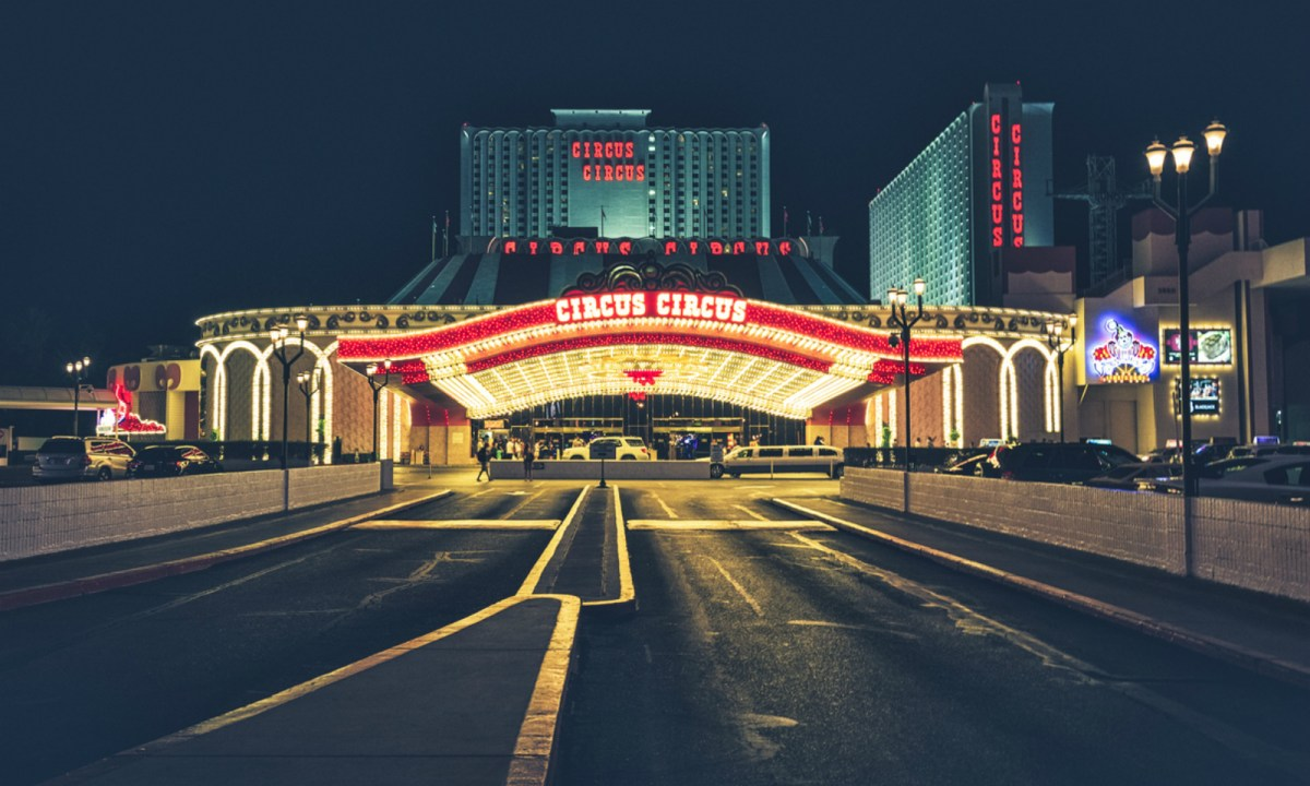 The Circus Circus Hotel and Casino, Las Vegas. Photo by iStock.