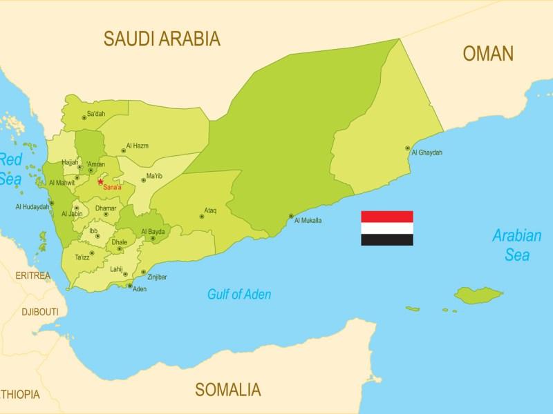 Map of Yemen: iStock