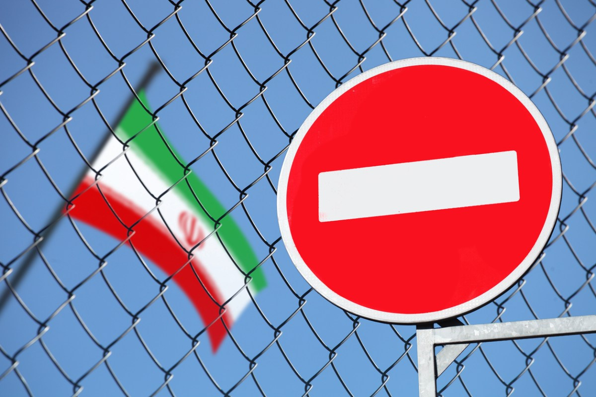 Iran sanctions.Photo: iStock