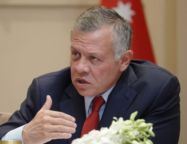 العاهل الأردني الملك عبد الله   صورة: ا ف ب