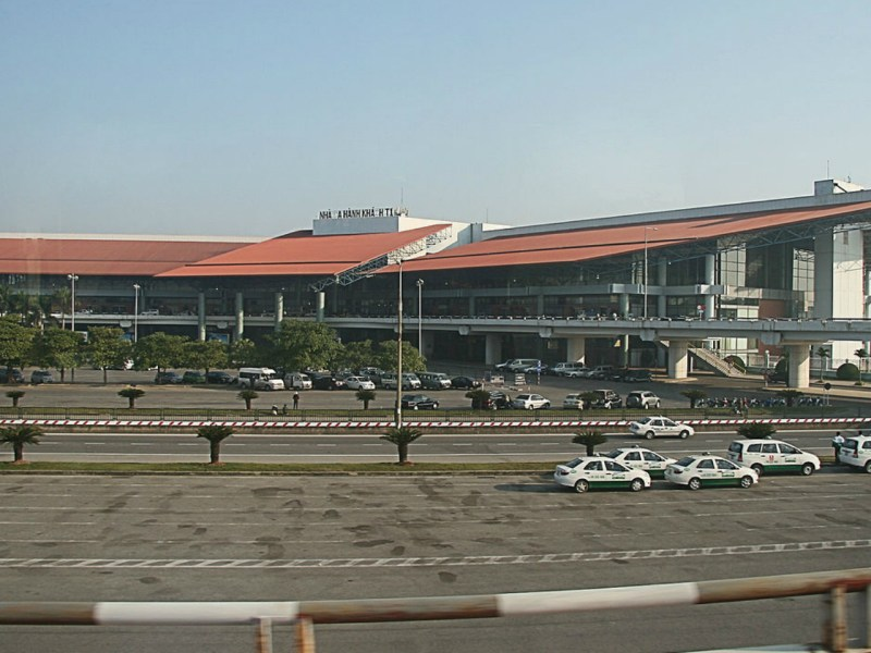 Noi Bai International Airport. Photo by Wikipedia.