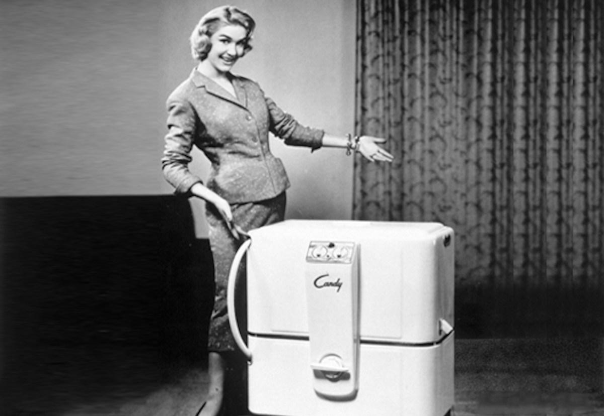 A model 1950s Candy washing machine. Photo: Candy