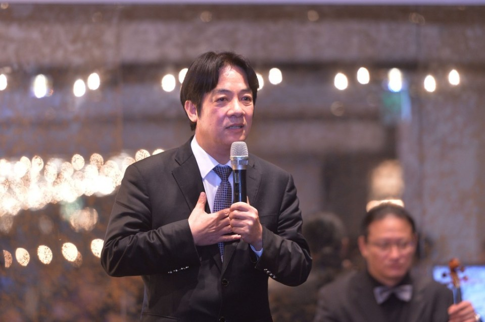 Taiwanese Premier William Lai. Photo: Handout