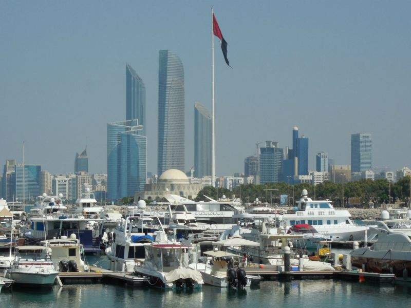 Abu Dhabi, capital of the United Arab Emirates. Photo: Wikimedia Commons