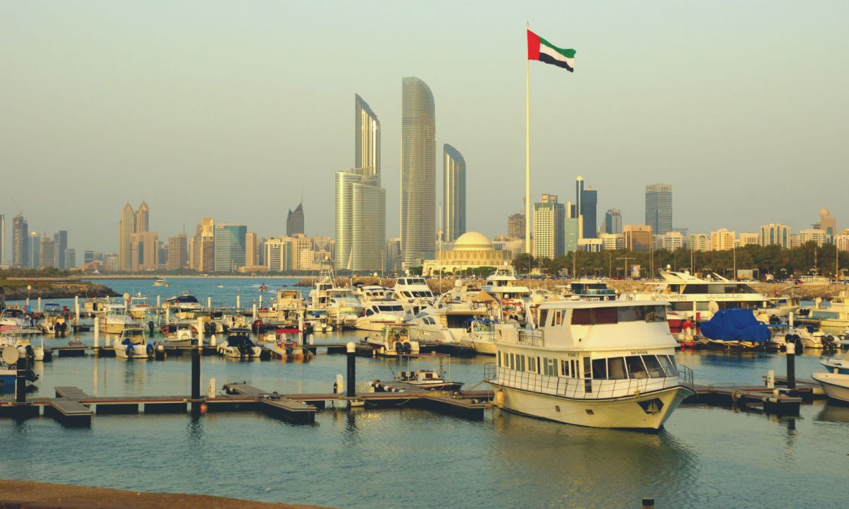 Abu Dhabi, capital of the United Arab Emirates. Photo: Wikimedia Commons