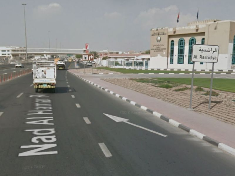 Al Rashidiya in Dubai, UAE. Photo: Google Maps