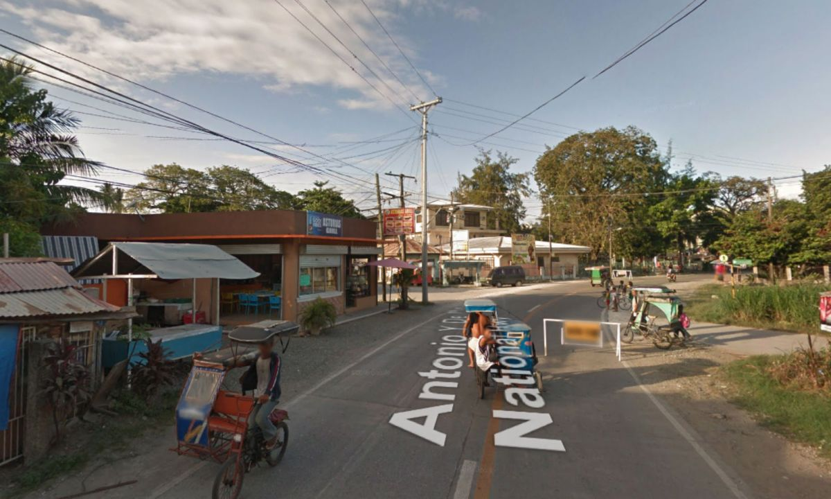 Barangay Sta. Lucia in Asturias, Cebu in the Philippines. Photo: Google Maps