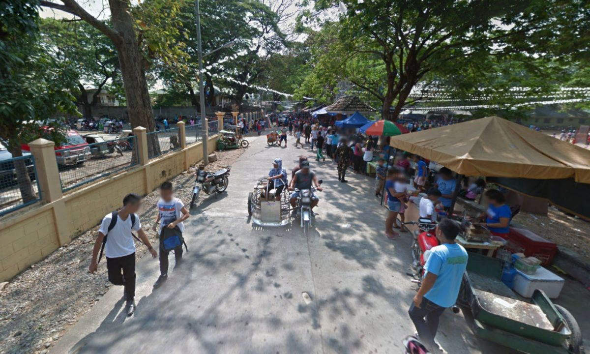 Dolores town in Abra province, Philippines. Photo: Google Maps
