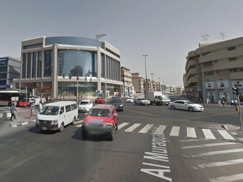 Al Muraqabat, Dubai. Photo: Google Maps