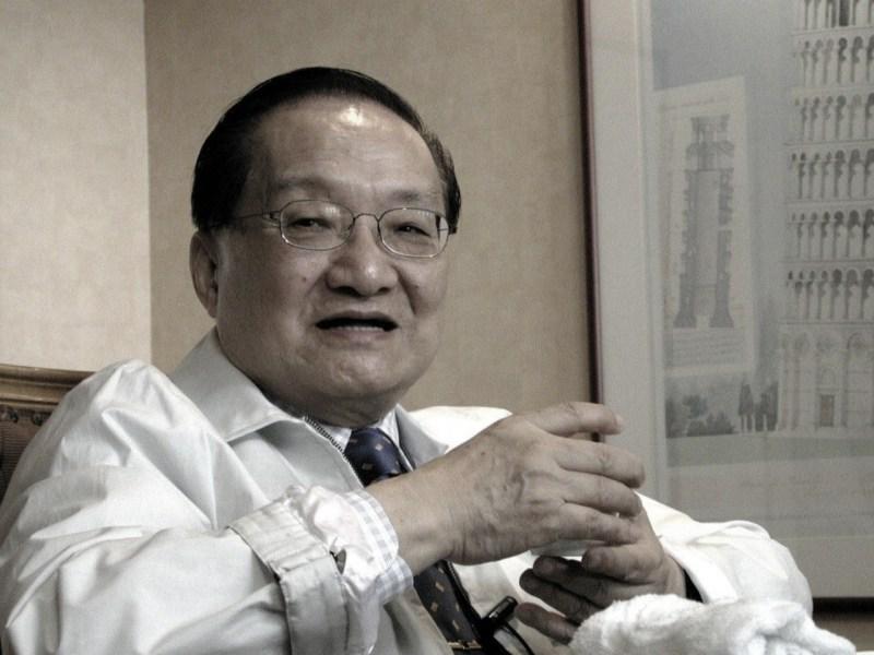 Chinese novelist Jin Yong. Photo: Baidu
