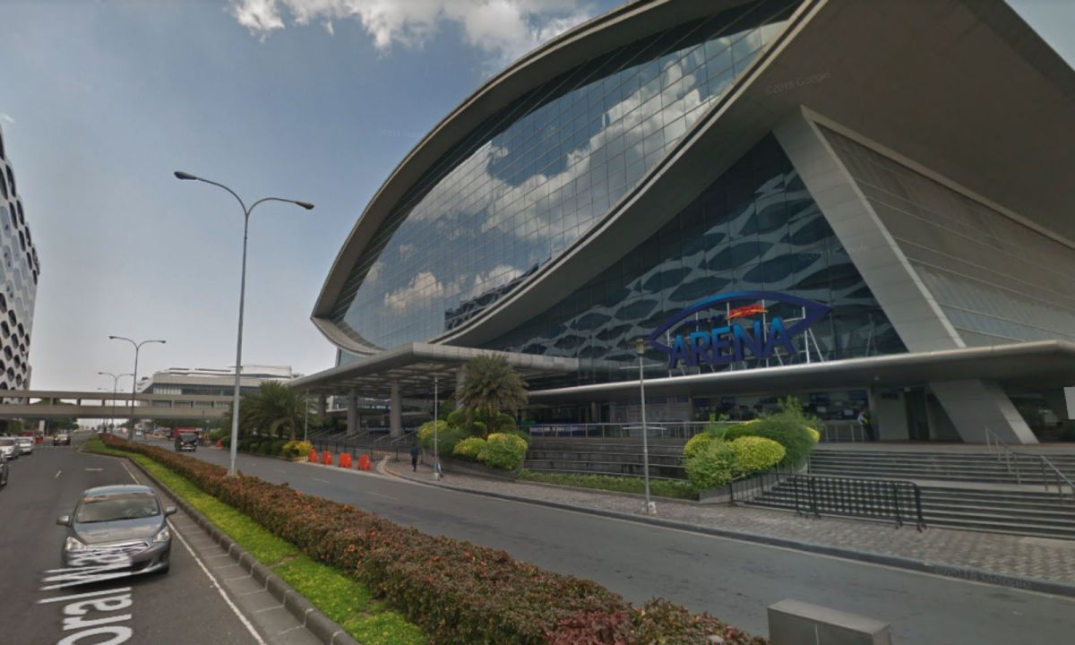 Mall of Asia Arena in Pasay City, Philippines. Photo: Google Maps