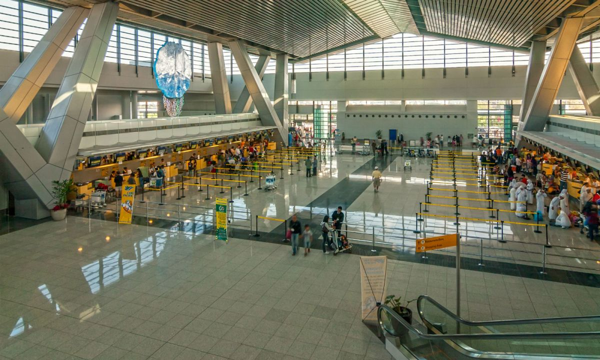 Departure area of Ninoy Aquino International Airport Terminal, Manila, Philippines. Photo: Wikimedia Commons, Anton Zelenov