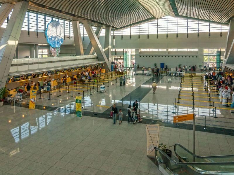 Departure area of Ninoy Aquino International Airport Terminal, Manila, Philippines. Photo: Wikimedia Commons, Anton Zelenov