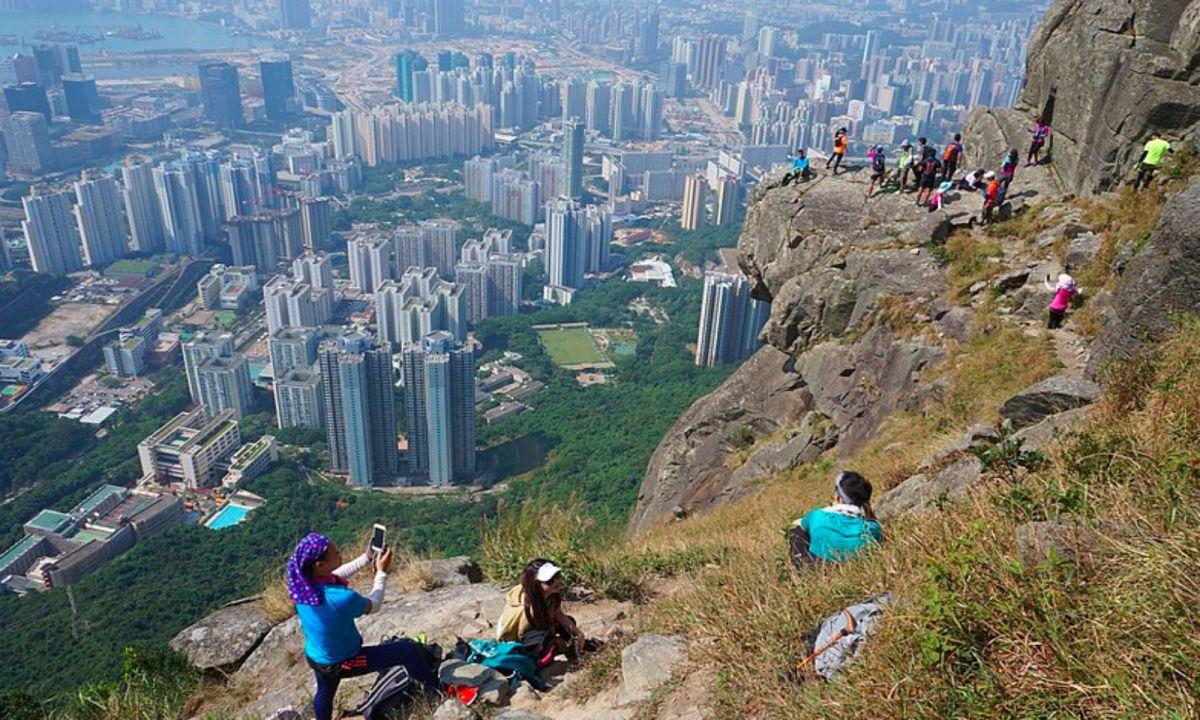 Kowloon Peak, Kowloon Photo: Wikimedia Commons