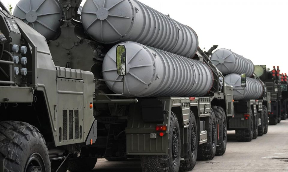 印度於10月初從俄羅斯採購了S-400防空導彈系統。相片:Sputnik / Igor Zarembo