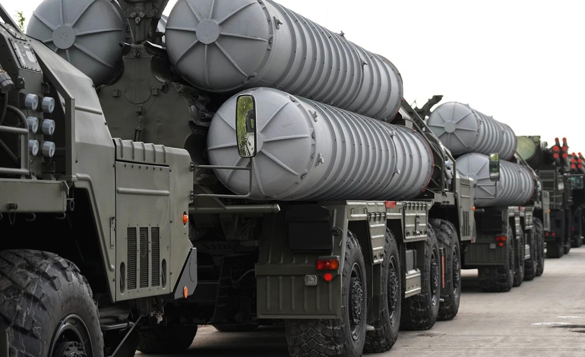 India finalized the acquisition of Russia's S-400 air defense missile system earlier in October. Photo: Sputnik/Igor Zarembo