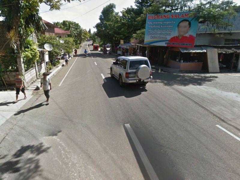 Santander, Cebu in the Philippines. Photo: Google Maps