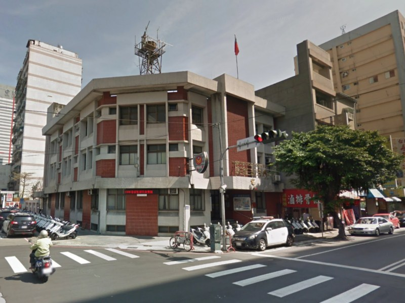 Minquan First Police Station of Taichung City Police Bureau, Taiwan. Photo: Google Maps