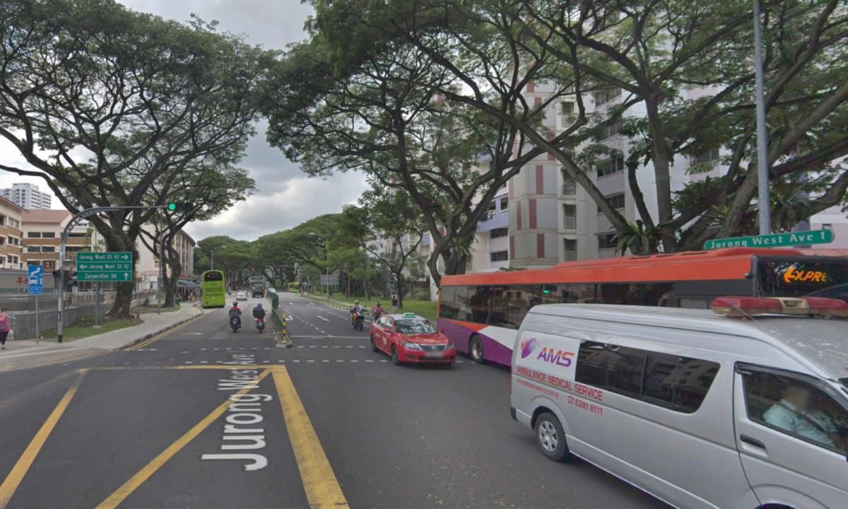 Jurong West Ave 1, Singapore. Photo: Google Maps