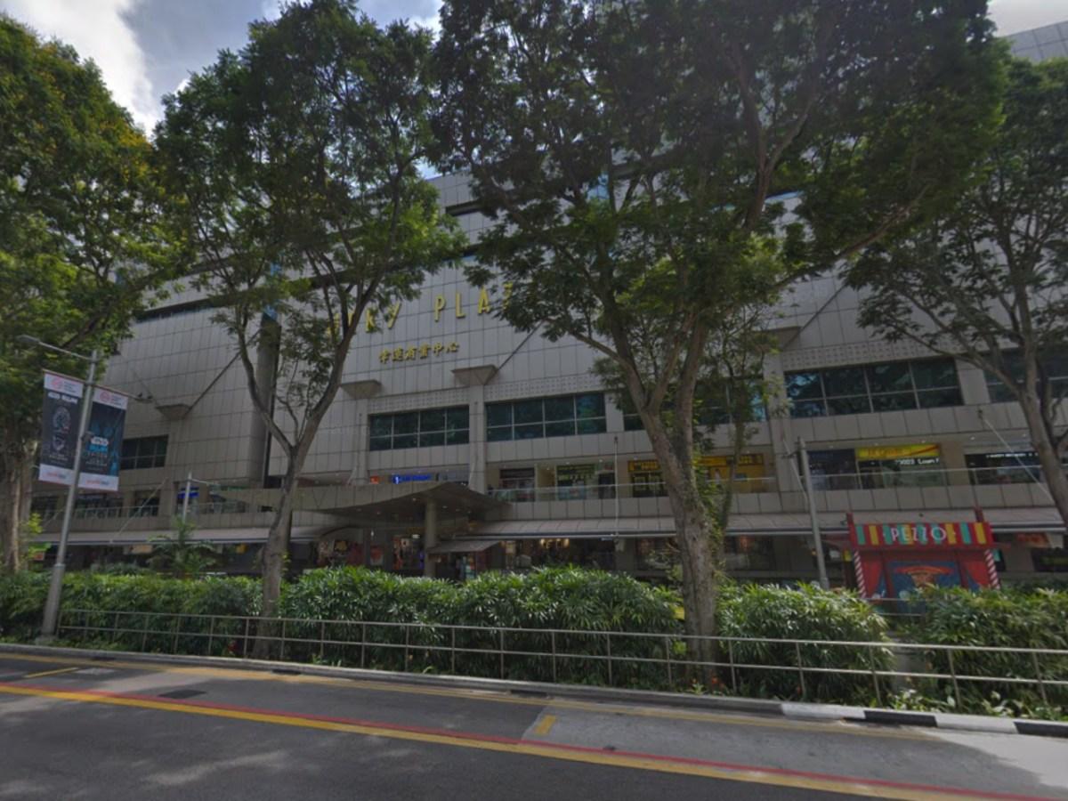 Lucky Plaza, Singapore. Photo: Google Maps