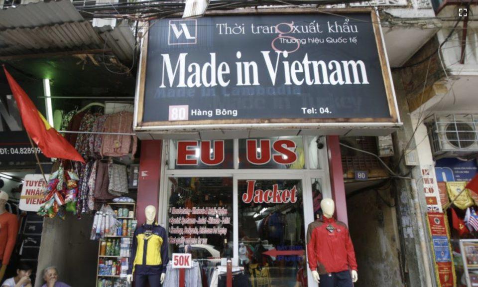 越南正努力在中美之間達成微妙的貿易平衡。相片:Reuters