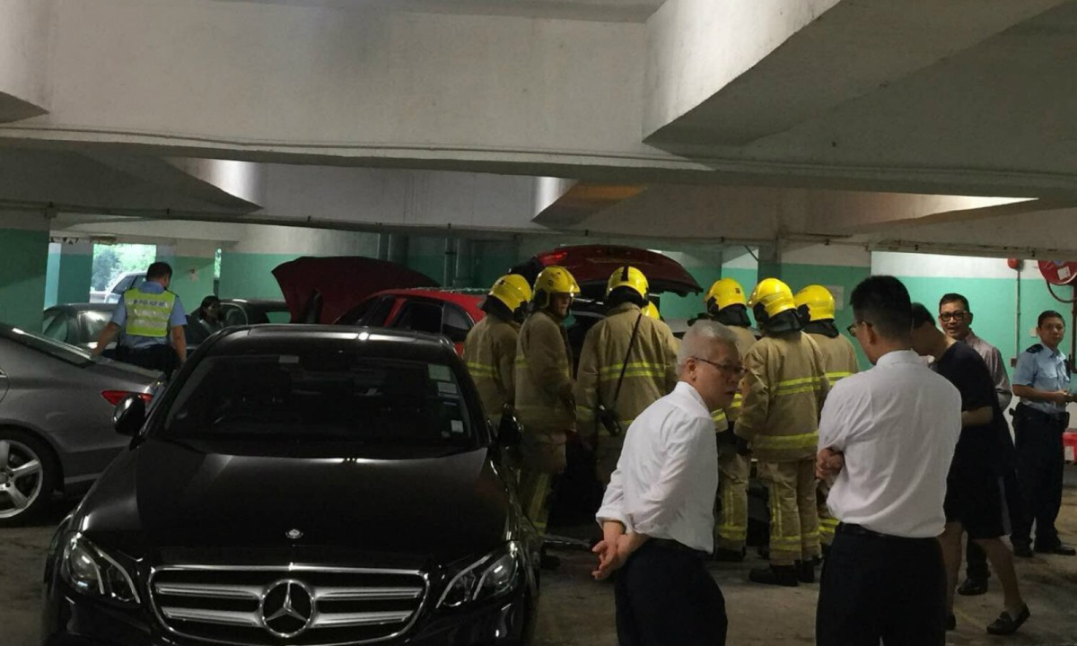 A Filipino domestic worker was injured in an accident in a Happy Valley car park. Photo: Facebook