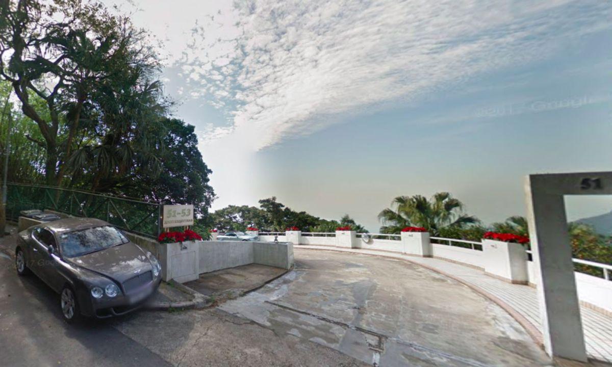 The Peak, Hong Kong Island Photo: Google Maps