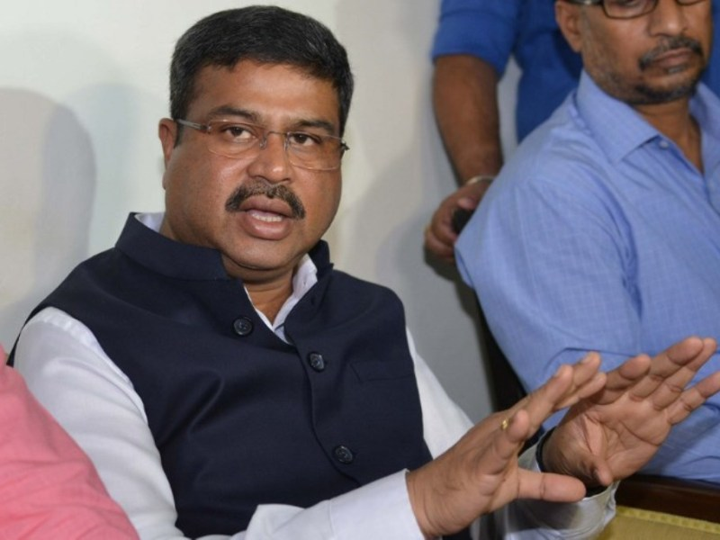 Indian Petroleum Minister Dharmendra Pradhan. Photo: AFP