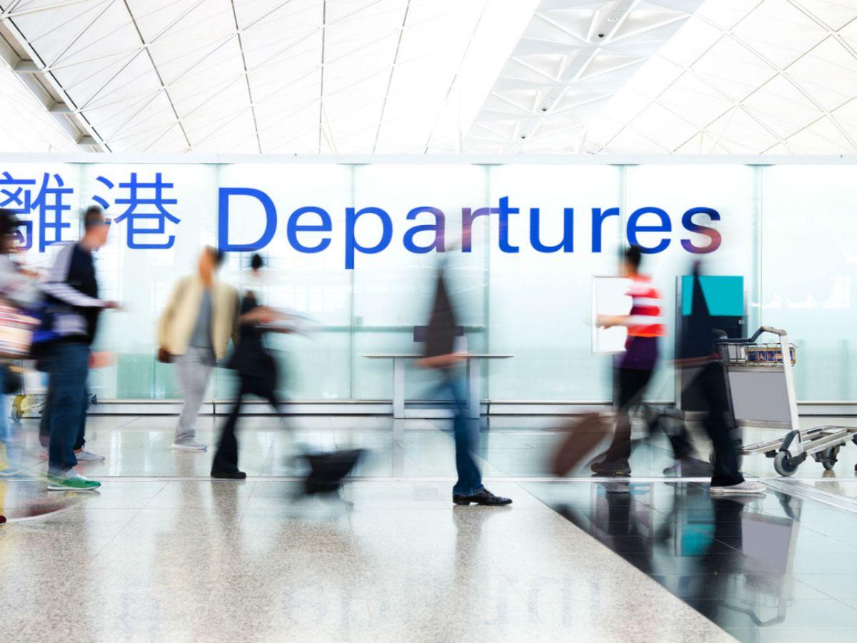Hong Kong International Airport. Photo: iStock