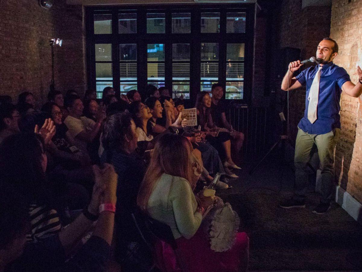 Vivek Mahbubani Photo: Facebook, Laugh Festival HK