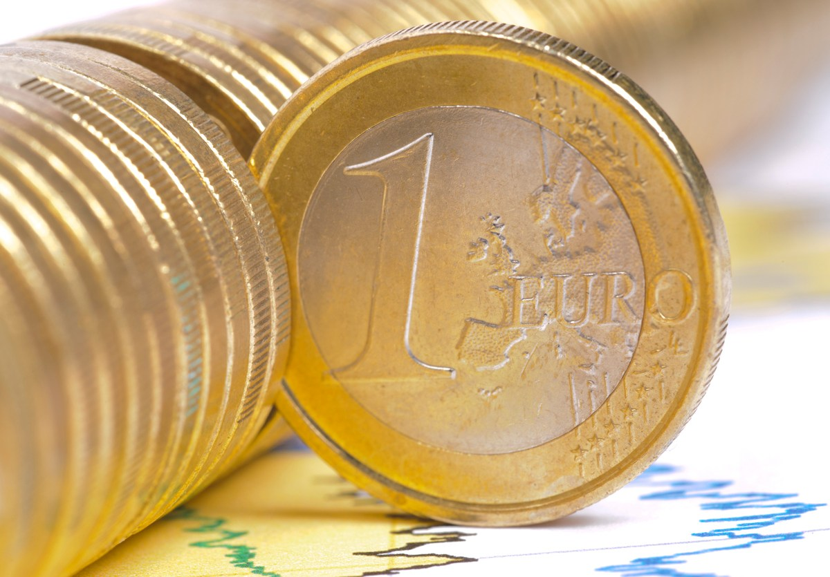 coin of European currency. Photo: iStock