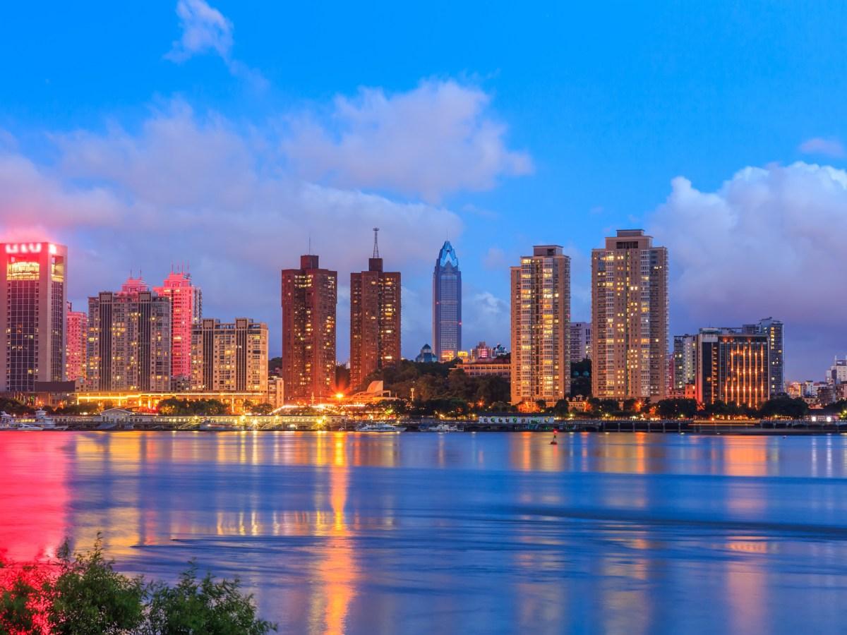 Wenzhou city, Zhejiang province. Photo: iStock