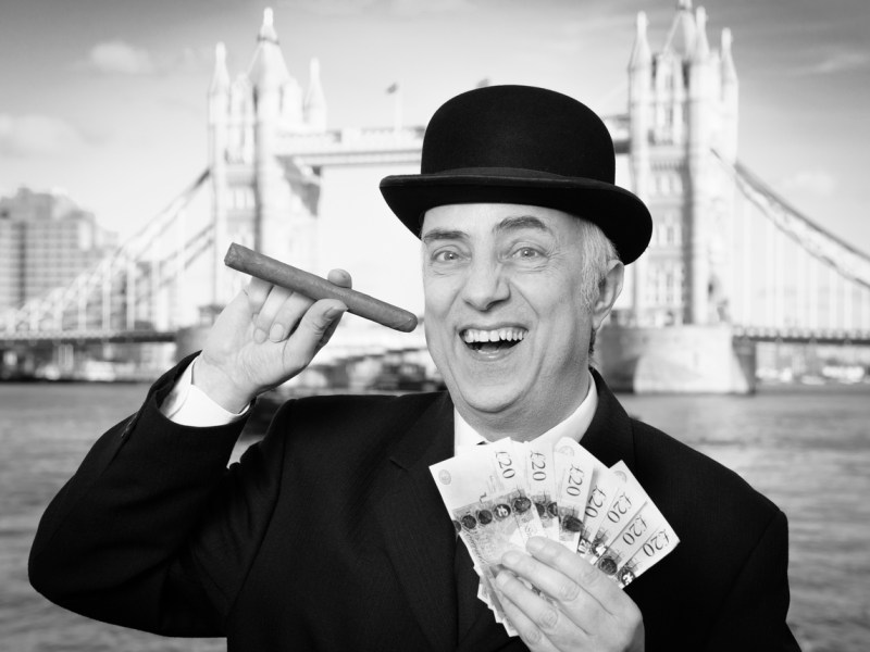 City of London banker. Photo: iStock