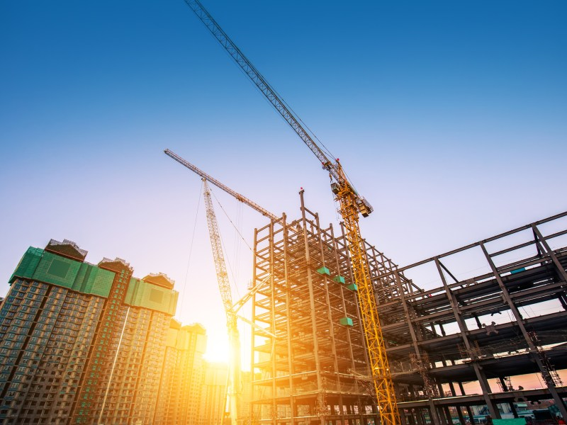 China's real estate development. Photo: iStock