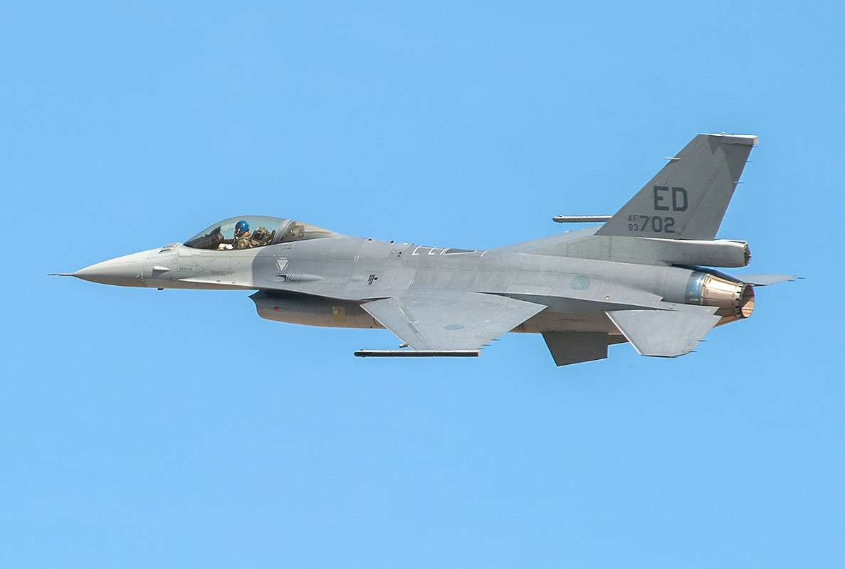 The first prototype of the F-16V series. Photo: Lockheed Martin