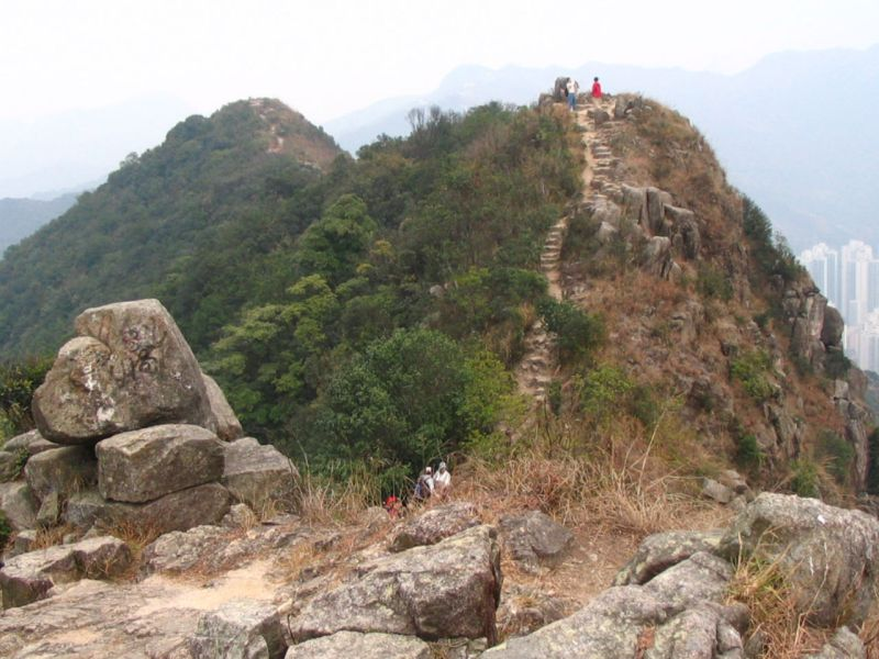 Lion Rock Hill in Kowloon Photo: Wikimedia Commons