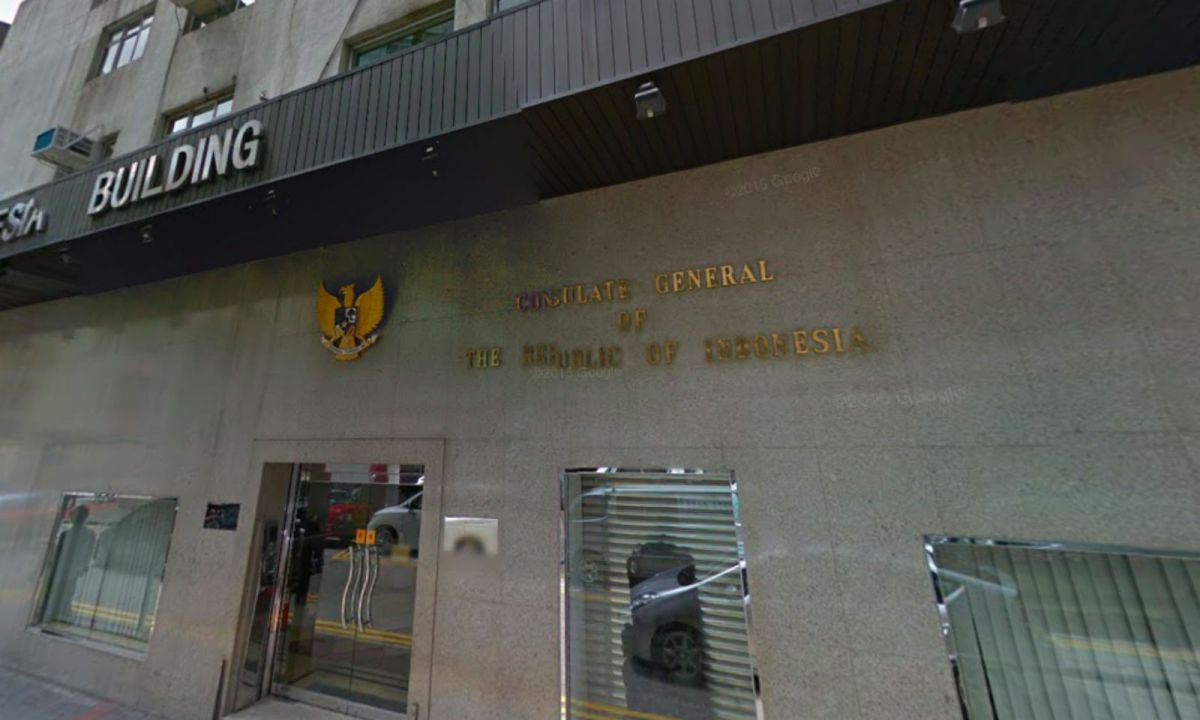 Indonesian Consulate General in Hong Kong in Causeway Bay, Hong Kong Island Photo: Google Maps
