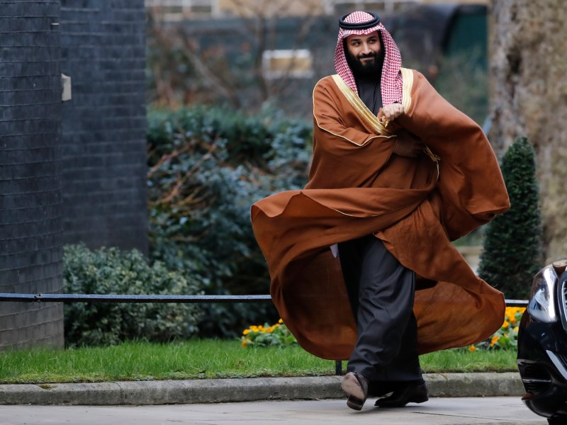 Saudi Arabia's Crown Prince Mohammed bin Salman in London on March 7. Photo: Tolga Akmen / AFP