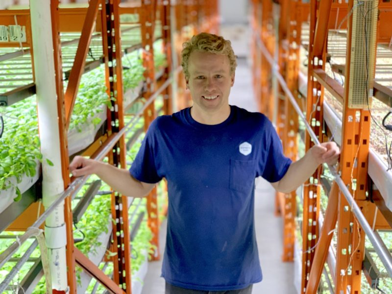 Deepwater Farms founder and CEO Paul Shumlich. Photo: Asia Times