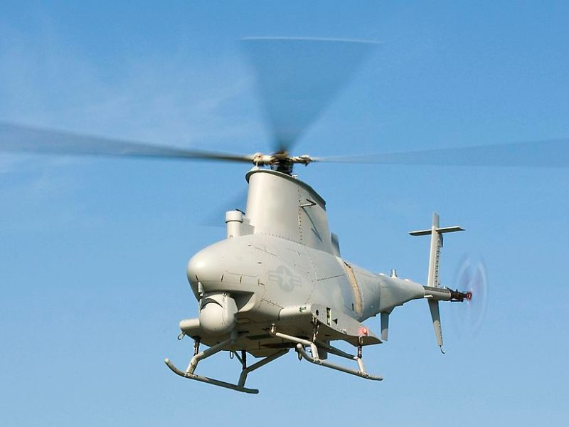 A file photo of the MQ-8B Fire Scout unmanned aerial vehicle. Photo: US Army