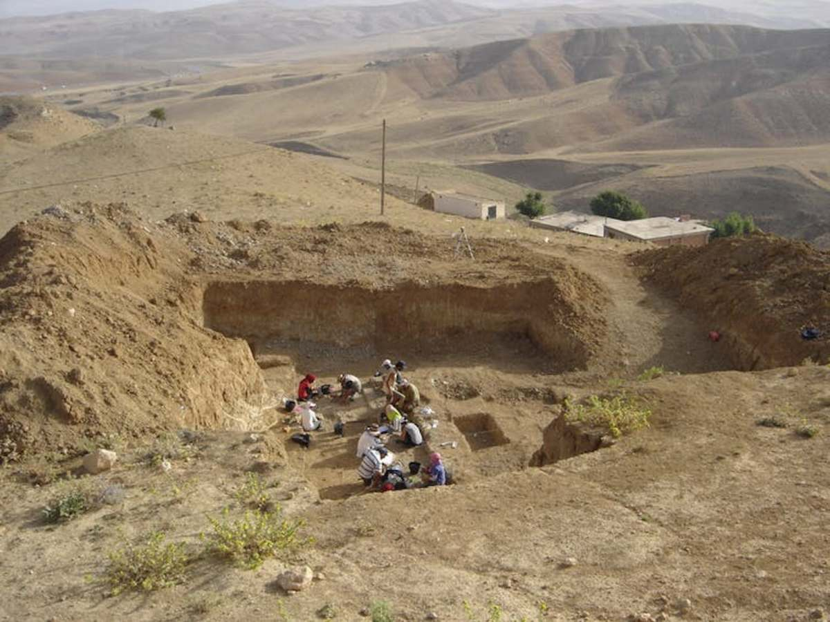 Archaeological excavation at Ain Boucherit, Algeria. Photo: Mathieu Duval