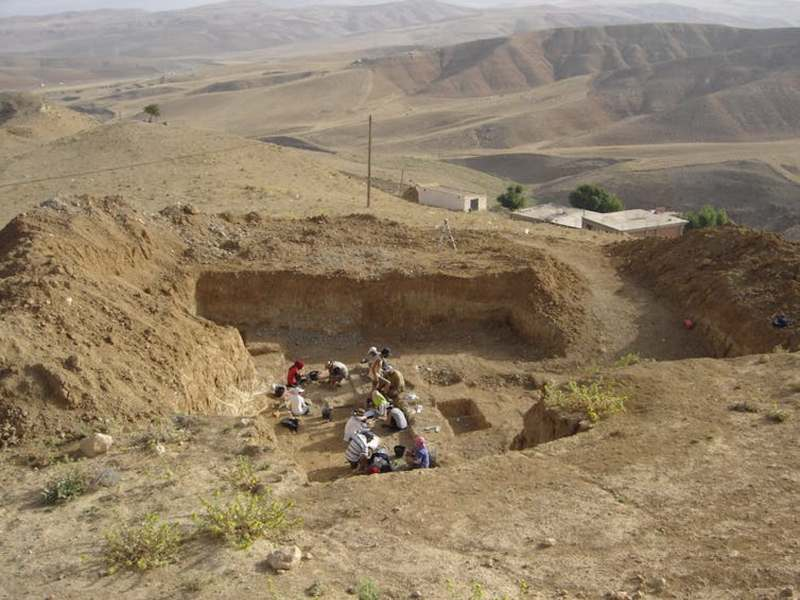 Archaeological excavation at Ain Boucherit, Algeria. Photo: Mathieu Duval