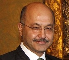 Iraqi President Barham Salih. Photo: Wikipedia