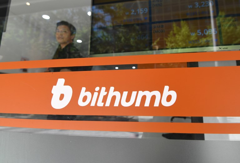 Bithumb will be providing investment and technical support for the American security token exchange project.  Photo: AFP