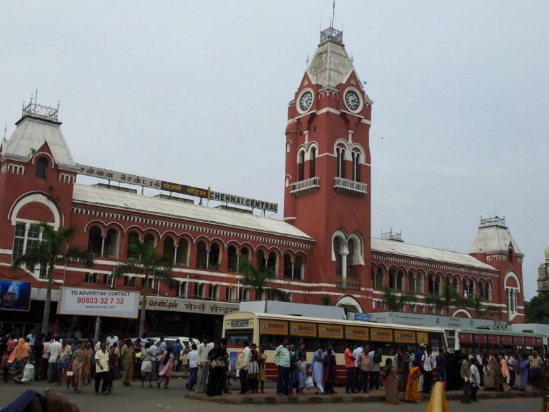 Chennai Central Railway Station. Photo: Wikimedia Commons